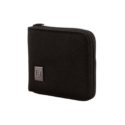 Бумажник VICTORINOX Tri-Fold Wallet, нейлон черный