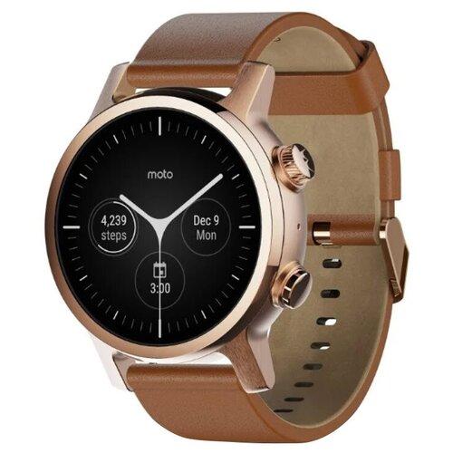 Умные часы Motorola Moto 360 3rd Gen 2020 rose gold