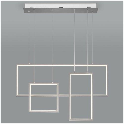 Фото - Светильник светодиодный Eurosvet Direct 90178/3 сатин-никель, LED, 65 Вт светильник eurosvet потолочный светодиодный 90177 3 сатин никель