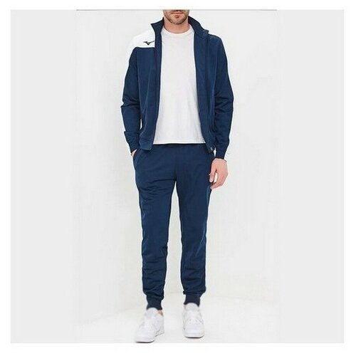 Спортивный костюм мужской MIZUNO 32EG7006M 14 Knitted Tracksuit 32EG7006M14-6 размер 56 цвет синий