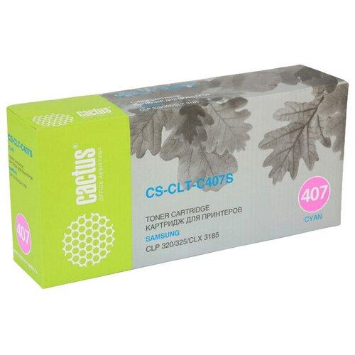 Фото - Картридж cactus CS-CLT-C407S, совместимый картридж cactus cs clt y506l