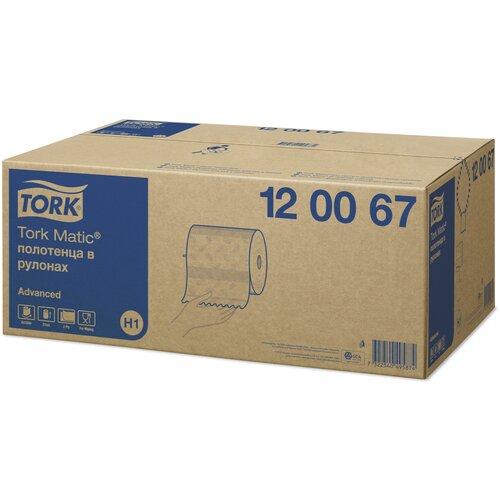 туалетная бумага tork advanced 120231 12 рул Полотенца бумажные TORK Matic advanced 120067 6 рул.