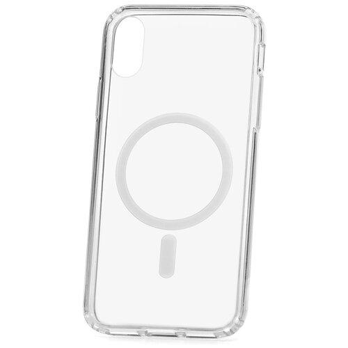 Чехол для Apple iPhone X / XS Kruche MagSafe Acryl Crystal / противоударный чехол / чехол бампер на айфон / магсэйф / магсейф для айфона / чехол на iPhone / накладка на iPhone / магнитный чехол на iPhone / чехол на руку / чехол на плечо / чехол на шею / чехол через плечо / айфон магсейф / чехол для держателя / чехол magsafe / айфон магсейф / айфон хс / айфон икс эс / чехол для iPhone х / айфон ихс