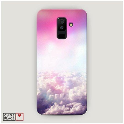 Чехол Пластиковый Samsung Galaxy A6 Plus Постельные облака