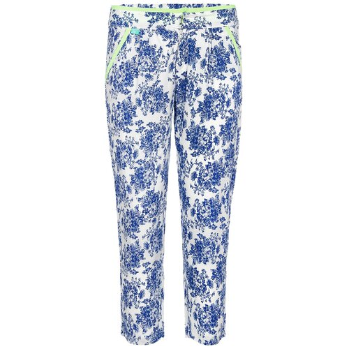 Брюки Nota Bene размер 140, голубой блузка nota bene размер 122 голубой