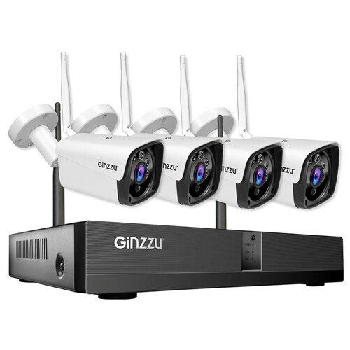 Комплект видеонаблюдения Ginzzu HK-4401W