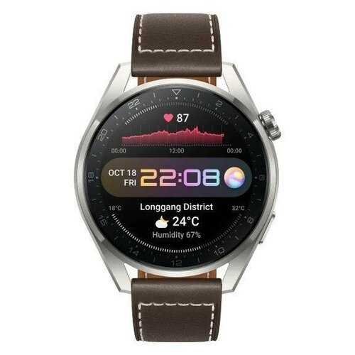 Умные часы Huawei Watch 3 Pro LTE 48mm 2/16GB Brown