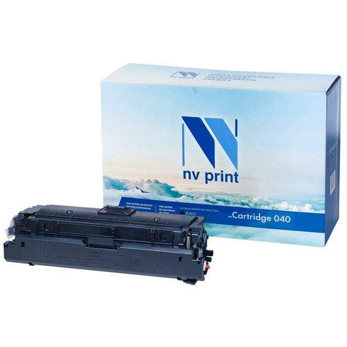 Фото - Картридж NV-Print 040Bk 6300стр Черный майка print bar только вперед