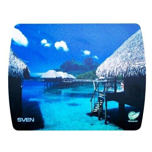 Коврик Sven UA для мыши - картинки, морские ландшафты 230х180х2.35мм