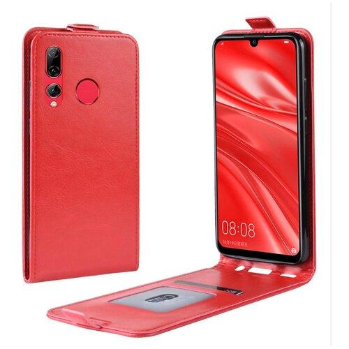 Чехол-флип MyPads для Honor 9X (STK-LX1)/ Huawei Honor 9X Premium / Honor 9X (Russia) вертикальный откидной красный