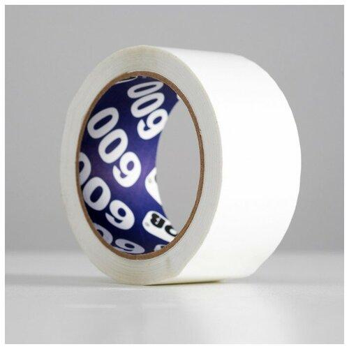 Фото - Клейкая лента упаковочная UNIBOB белая 600 48мм х 66м 45мкм 4929577 клейкая лента коричневая unibob 48мм 66м 45мкм 6 шт в упаковке