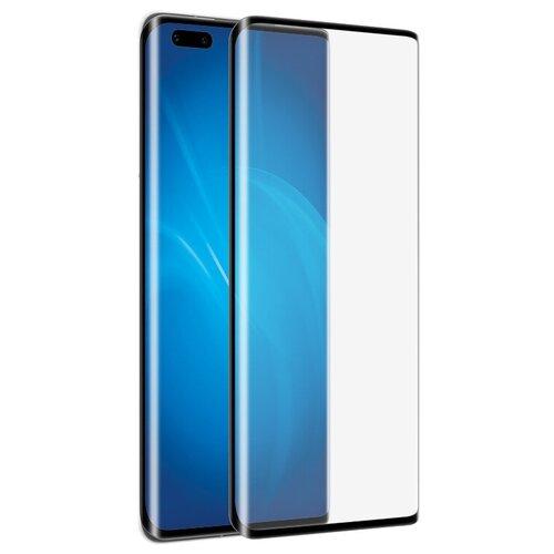 Закаленное стекло DF для Huawei Mate 40 Pro Full Screen 3D Black Frame hwColor-125 закаленное стекло df для huawei p30 pro 3d full screen black hwcolor 94