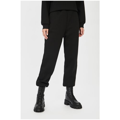 Фото - Брюки Baon, размер XXL/52, black шорты baon размер xxl 52 dark beige