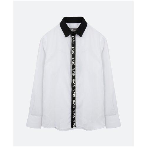 Рубашка Gulliver размер 164, белый