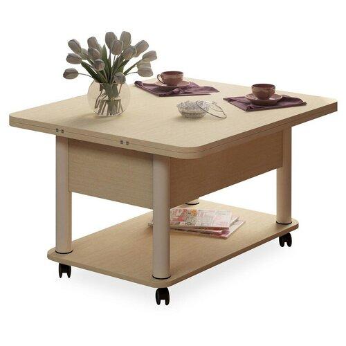 Стол кухонный Форвард-мебель Дебют 3, раскладной, ДхШ: 86 х 72 см, длина в разложенном виде: 172 см, венге светлый/белый