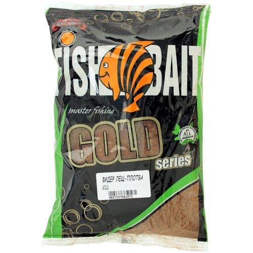 Прикормочная смесь FishBait Gold Фидер Лещ Плотва 1000 г