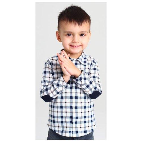 Купить Рубашка Золотой ключик размер 98 (26), черный/белый, Рубашки