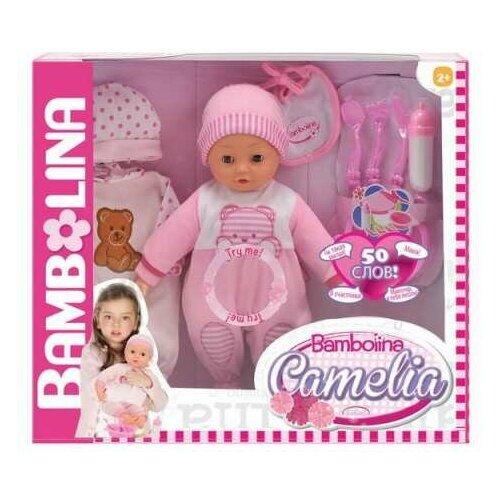Фото - Кукла DIMIAN Bambolina Camelia Пупс интерактивный 40 см dimian