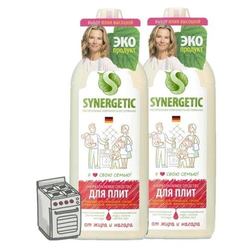 Фото - Средство для кухонных плит 1 л (2 шт.) Synergetic средство для кухонных плит 1 л 3 шт synergetic