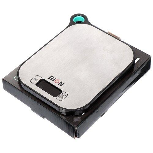 Весы кухонные электронные Rion PT-892 с черной рамкой до 5 кг недорого