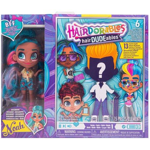 Кукла-загадка Hairdorables Модная парочка, 23700