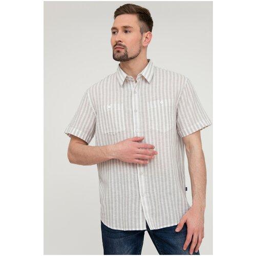 Рубашка FiNN FLARE размер M светло-серый (211)