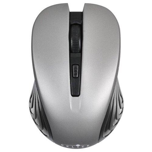 Фото - Беспроводная мышь OKLICK 545MW, черно-серый компьютерная мышь oklick 545mw черный серый usb