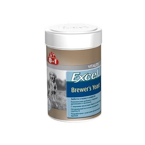 8 в 1 эксель пивные дрожжи для собак и кошек (260 таб.) excel brewers yeast 108603, 0,104 кг, 17849 (2 шт) 8 in 1 excel brewer s yeast – 8 в 1 эксель пивные дрожжи для собак крупных пород 80 таблеток