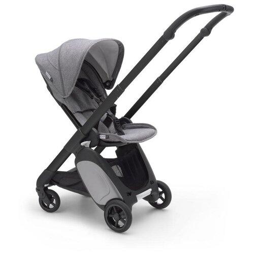 Прогулочная коляска Bugaboo ANT, black/grey melange/grey melange, цвет шасси: черный
