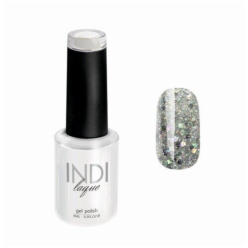 Купить Гель-лак для ногтей Runail Professional INDI laque с мелкими блестками, 9 мл, 4268