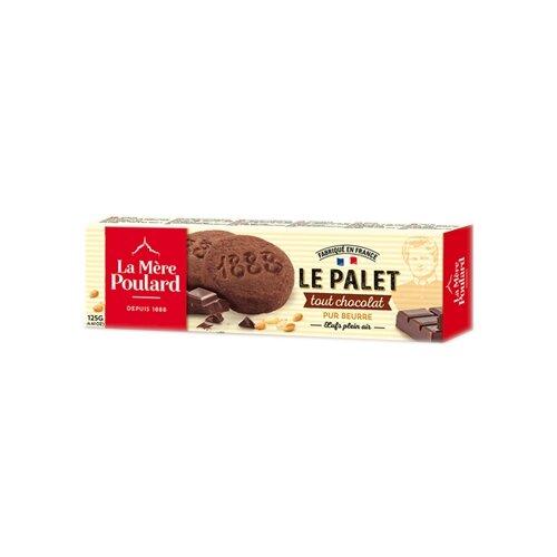 Печенье La Mere Poulard LE PALET Tout Chocolat, 125 г
