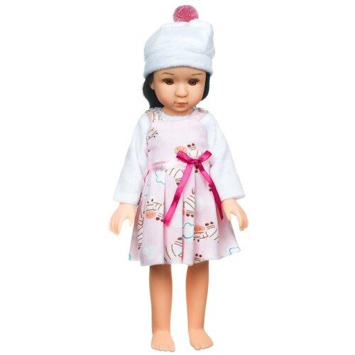 Купить Кукла BONDIBON Oly Очарование Брюнетка в розовом платье, 36 см, BB4367, Куклы и пупсы