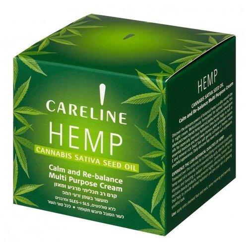 Купить Careline Hemp cannabis sativa seed oil Крем для лица, 50 мл
