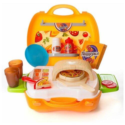 Фото - Игровой набор ABtoys Чудо-чемоданчик PT-00460 оранжевый/белый/голубой/зеленый игровой набор abtoys s 00183 черный белый 6 шт