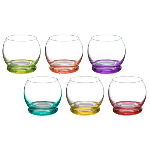 Bohemia Crystal Набор стаканов для виски Crazy 390 мл 6 шт