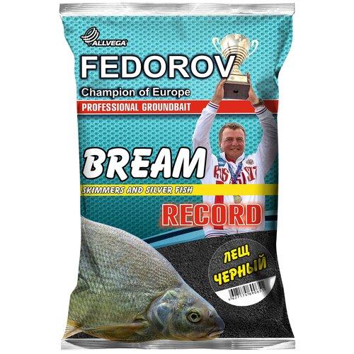 Прикормочная смесь ALLVEGA Fedorov Record Лещ черный 1000 г