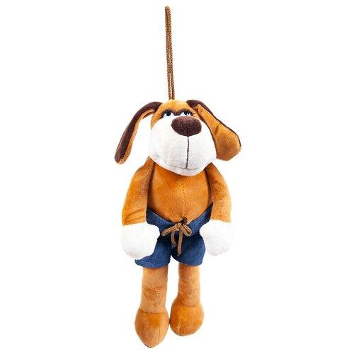 Мягкая игрушка Собака в шортах, 18см