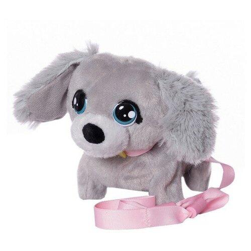 Фото - Интерактивная мягкая игрушка Club Petz Mini Walkiez Щенок, Poodle интерактивная мягкая игрушка mioshi active весёлый щенок mac0601 006 белый