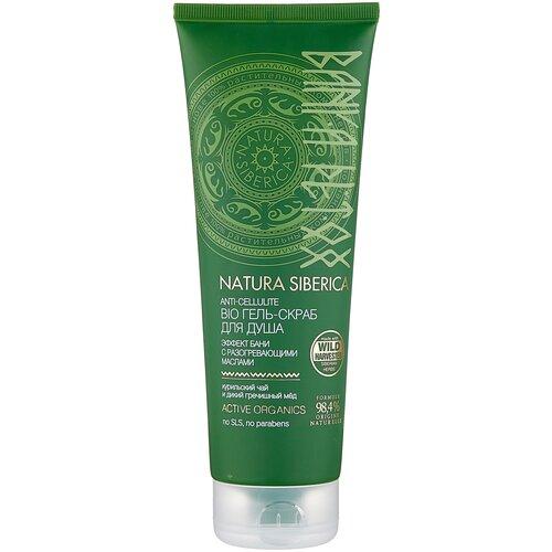 Купить Natura Siberica скраб Bio Banya Detox для душа 200 мл