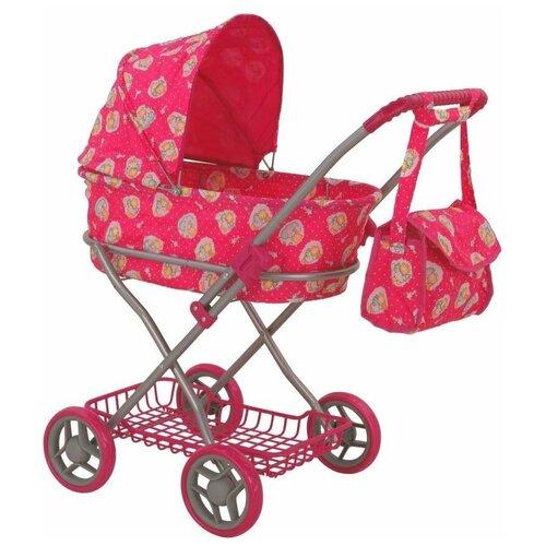 Купить Коляска-люлька Buggy Boom Mixy (8019) розовый/ангелы, Коляски для кукол