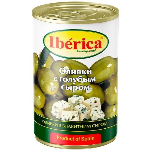 Iberica Оливки с голубым сыром, 300 г