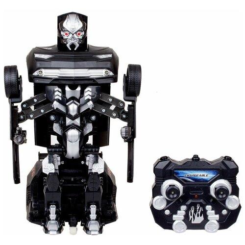 Робот-трансформер Jia Qi Troopers Fierce черный