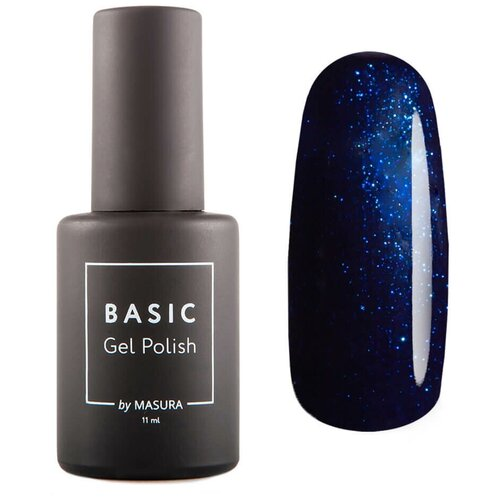 Гель-лак для ногтей Masura Basic, 11 мл, Саргассово Море гель лак для ногтей masura basic 11 мл саргассово море