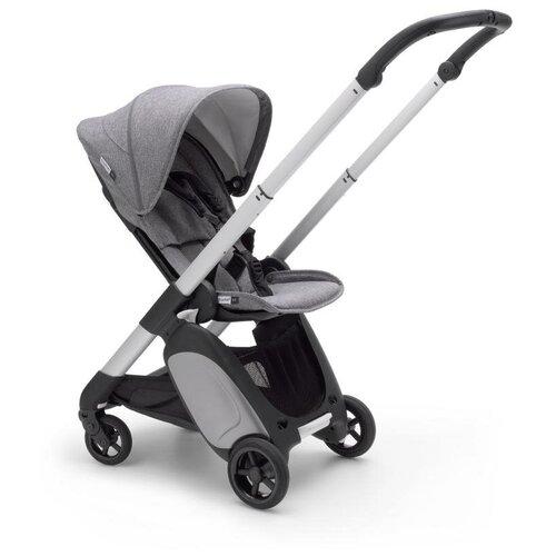 Прогулочная коляска Bugaboo ANT, Alu/Grey melange/Grey melange, цвет шасси: серебристый