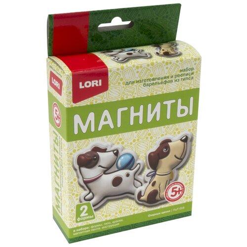LORI Магниты из гипса Озорные щенки (Пз/Г-018)