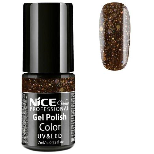 Купить Гель-лак для ногтей Nice View UV&LED, 7 мл, GL-114