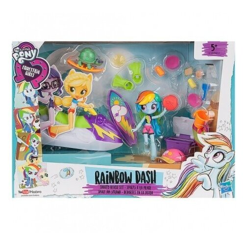 Набор MLP Equestria Girls My Little Pony Пижамная вечеринка Principal Celestia, голубой