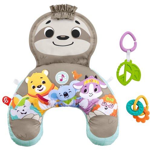 Фото - Развивающая игрушка Fisher-Price Ленивец GRR01, коричневый развивающий коврик fisher price ленивец
