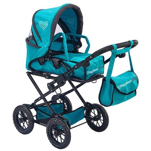 Фото - Коляска-трансформер Buggy Boom Infinia (8459) бирюзовый коляски для кукол buggy boom инфиниа 8459 2 в 1