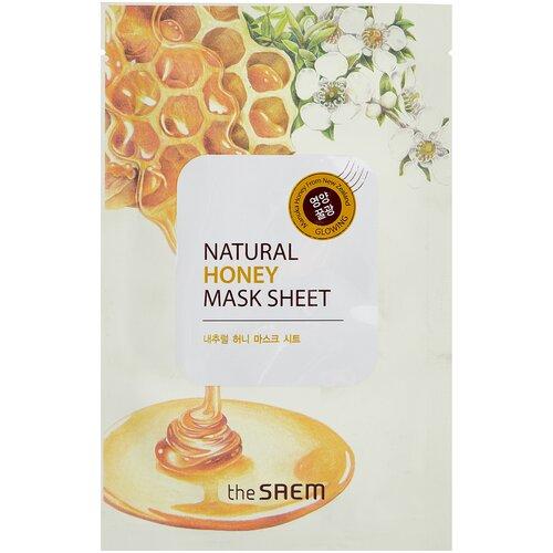 The Saem тканевая маска Natural Honey, 21 мл the saem тканевая маска zoo
